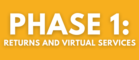 Phase 1 returns and virtual services